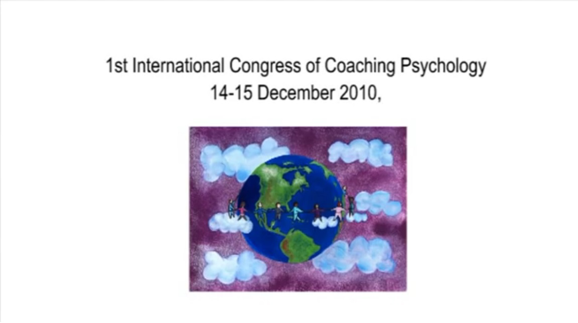 SGCP International Congress of Coaching Psychology, London 2010