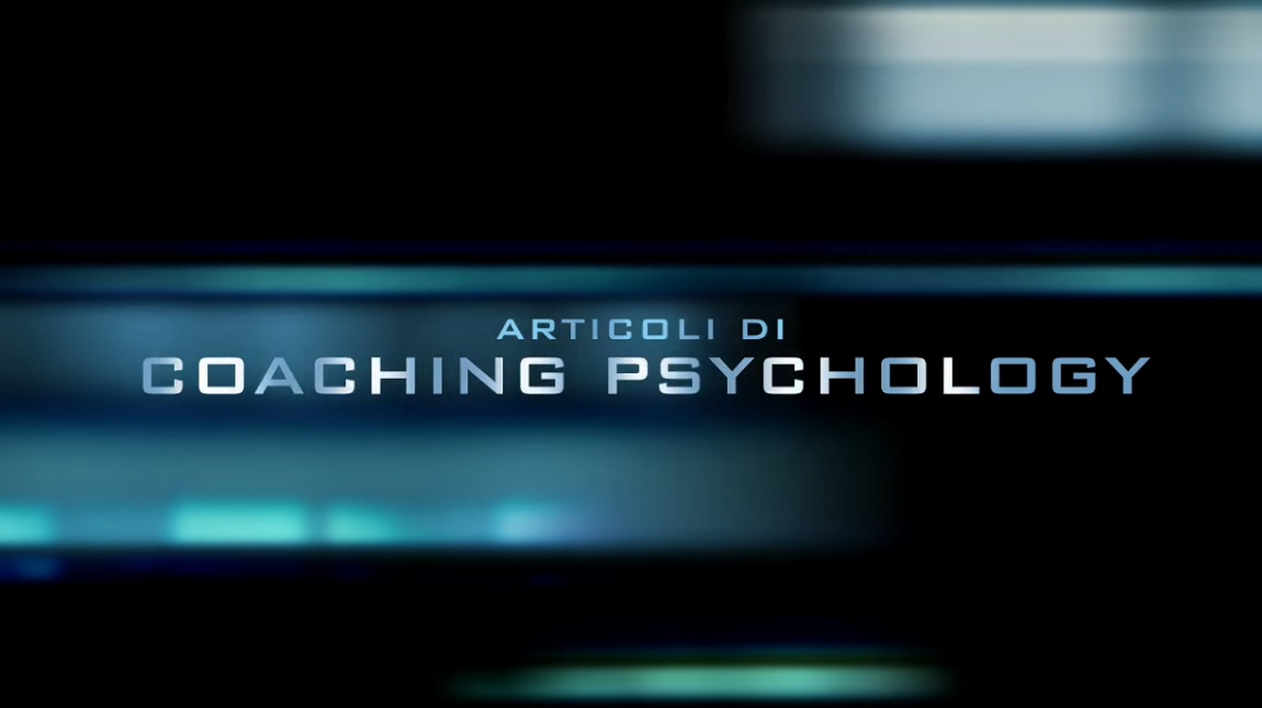 Business Coaching Psychology 2016